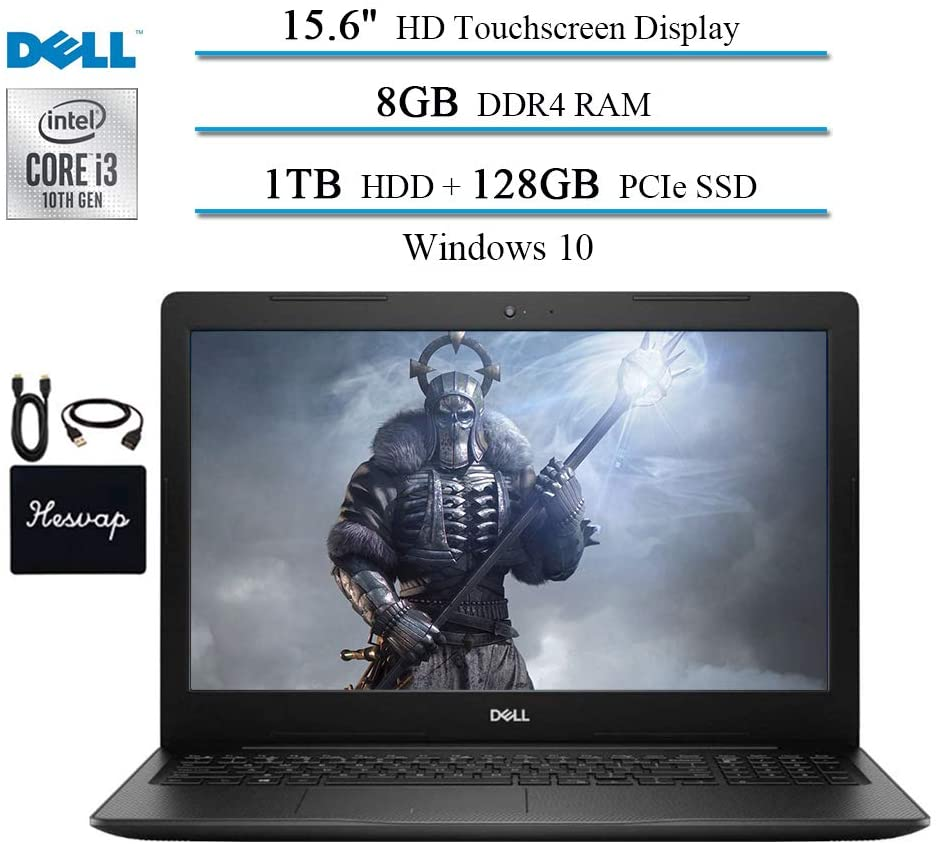 "2020 Dell Inspiron 15 15.6"" Touchscreen Laptop for Business and Student"