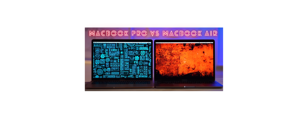 Difference between MacBook pro and air