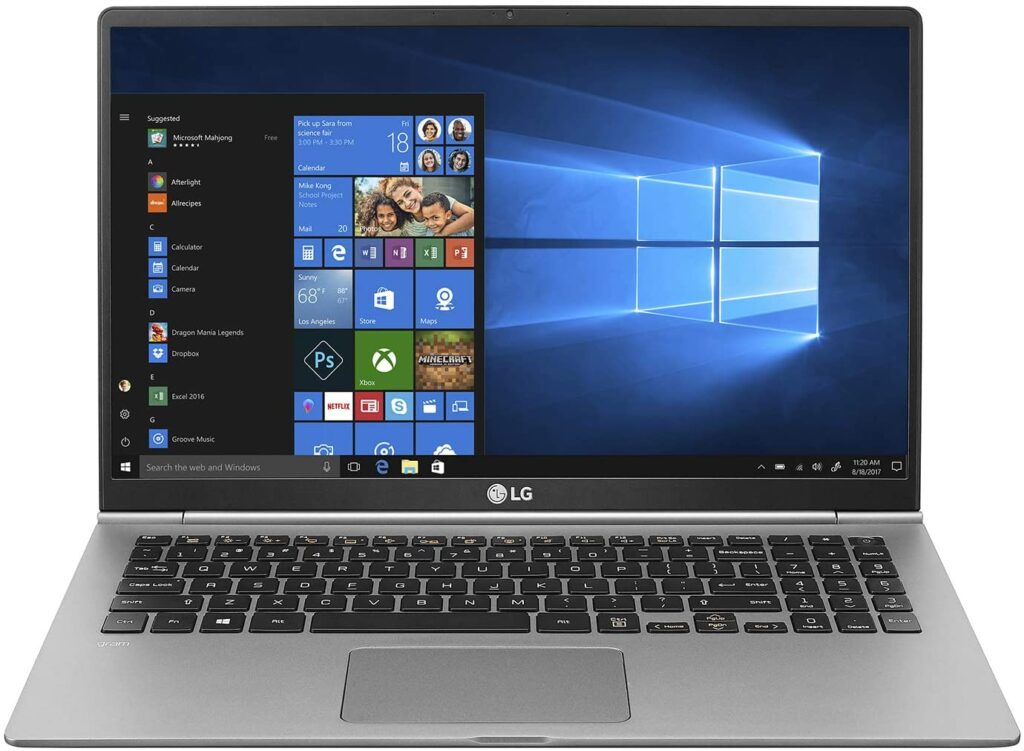 laptops with thunderbolt 3 2020